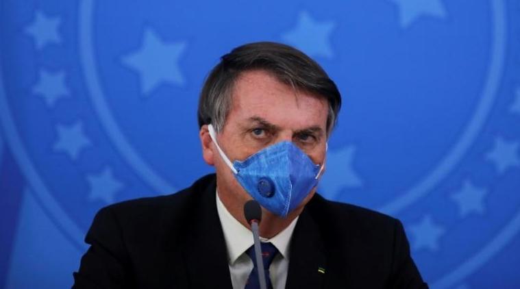 Brazil's Bolsonaro catches coronavirus, shrugs off health risks
